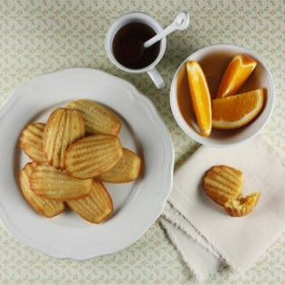 Candied Orange and Maple Madeleines // FoodNouveau.com