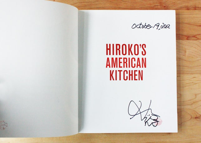 Enter to Win a Signed Copy of Hiroko Shimbo's Latest Book -- Hiroko's American Kitchen: Cooking with Japanese Flavors / FoodNouveau.com