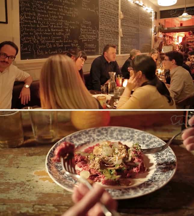 A video showcasing an edible tour of Montreal, led by David McMillan, co-owner of Joe Beef // FoodNouveau.com
