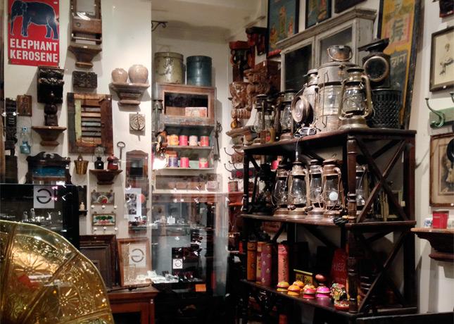 Rickshaw, an antique, vintage and imported objects shop in Le Passage du Grand Cerf, Paris // FoodNouveau.com