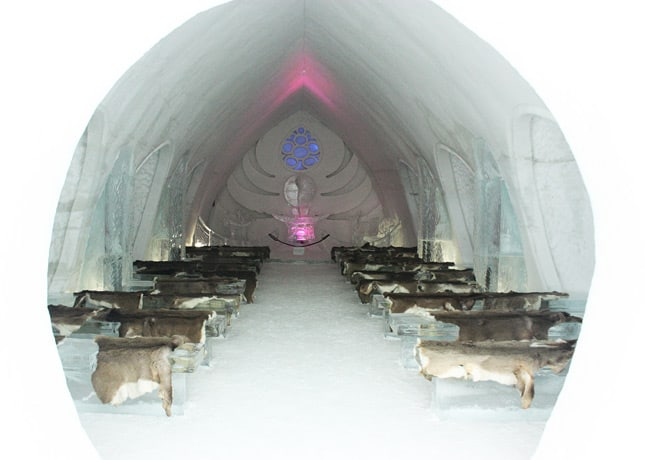 Ice Hotel, Quebec City: The Chapel // FoodNouveau.com