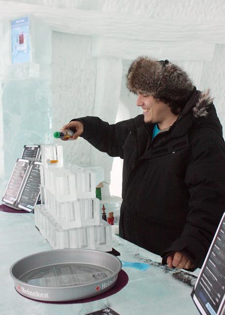 Ice Hotel, Quebec City: The Ice Bar // FoodNouveau.com