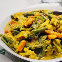Vegetarian Curry, Erica Scime's favorite dish in Toronto // FoodNouveau.com
