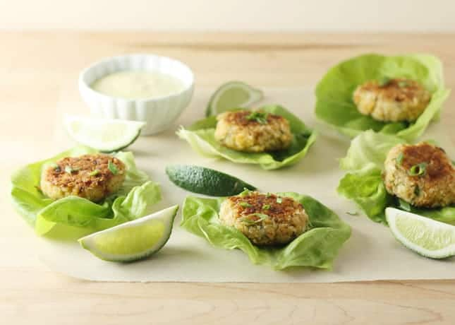 Classic Crab Cakes with Spicy Lime Mayo // FoodNouveau.com