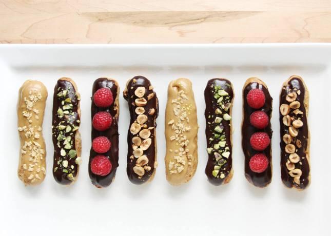How to Make Chocolate Éclairs // FoodNouveau.com