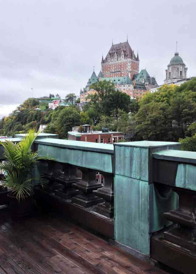 The view from Hôtel 71's penthouse, one of the Best Boutique Hotels in Quebec City // FoodNouveau.com