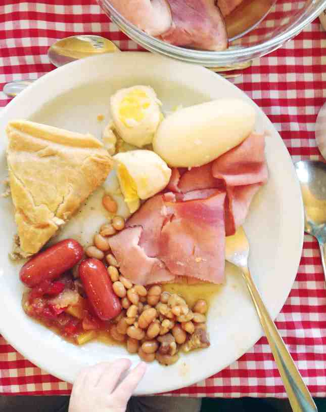 Traditional all-you-can-eat sugar shack plate // FoodNouveau.com