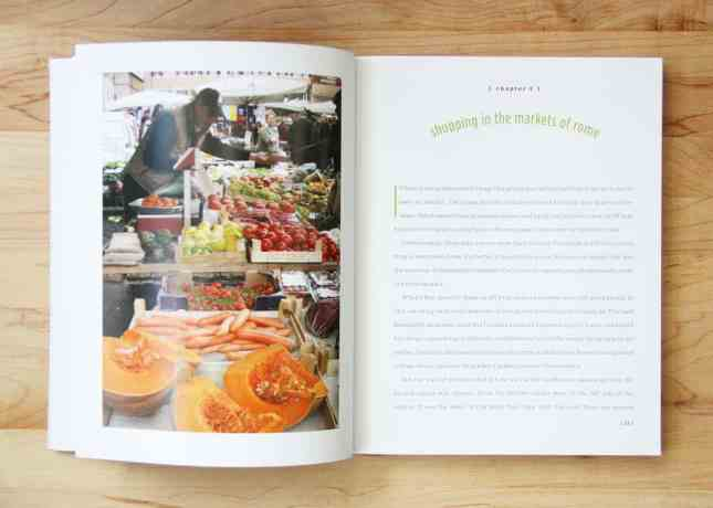 A spread of Eating Rome: Living the Good Life in the Eternal City, by Elizabeth Minchilli // FoodNouveau.com