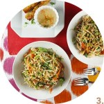 Chicken Soba Salad with Ginger-Peanut Dressing // FoodNouveau.com