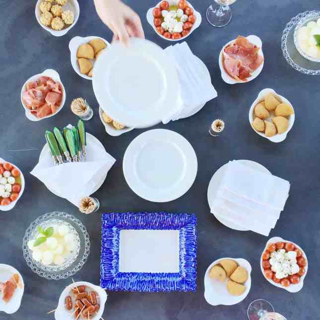Pre-lunch snacks at Quinta do Pessegueio, Douro Valley, Portugal // FoodNouveau.com