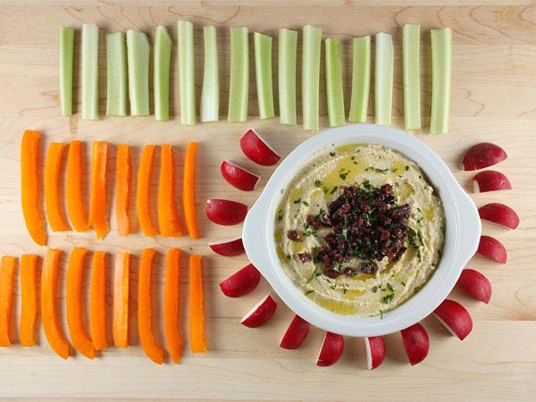 Easy One-Step Hummus