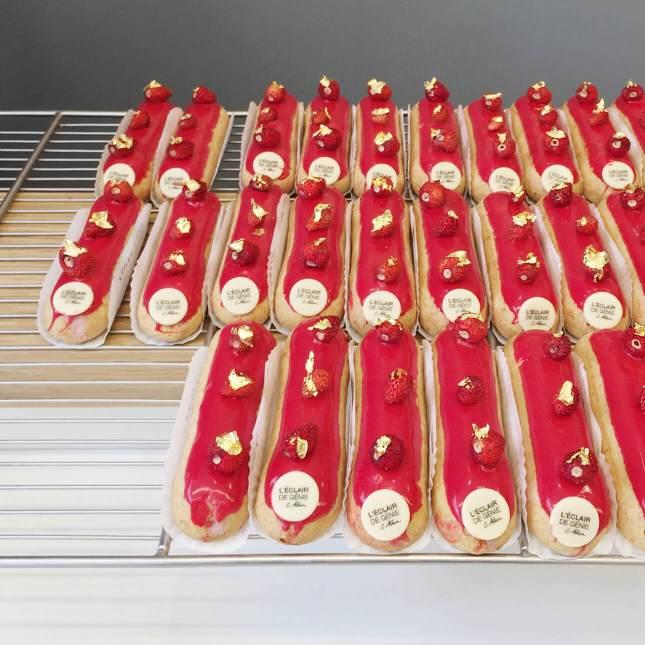 Spectacular éclairs from L'Éclair de Génie, by pastry chef Christophe Adam, Paris // FoodNouveau.com