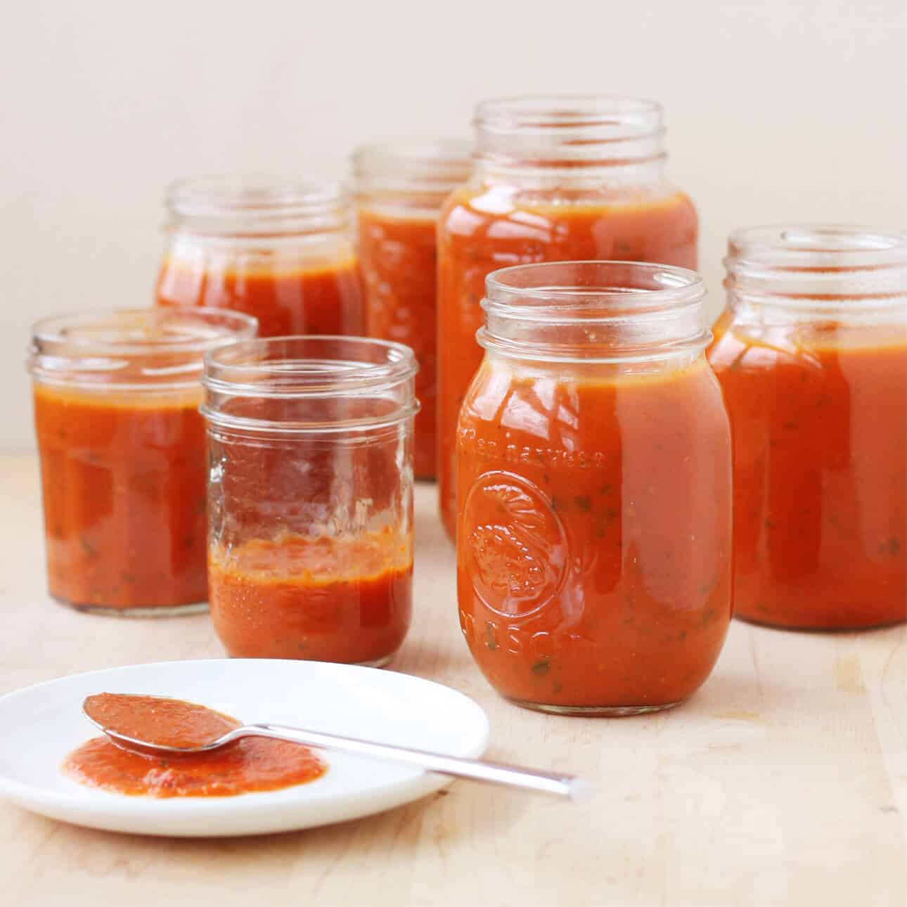 Universal Big Batch Tomato Sauce