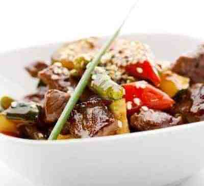 Spicy Beef Entree