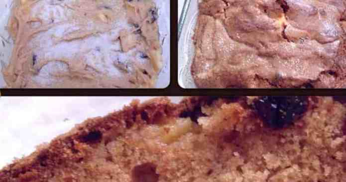 Amazing Blueberry, Apple and Craisin Bread Recipe