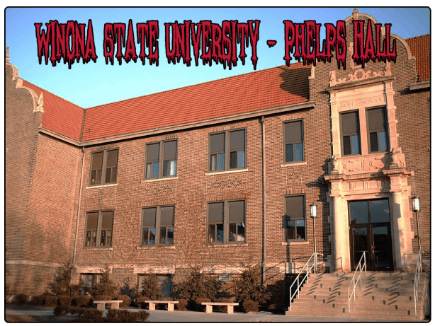 winona state university haunted phelps hall