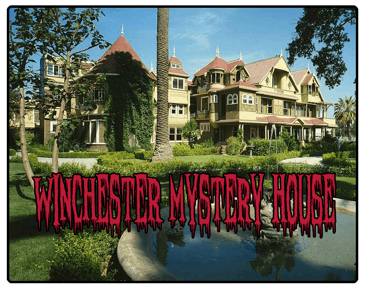winchester haunted mystery house