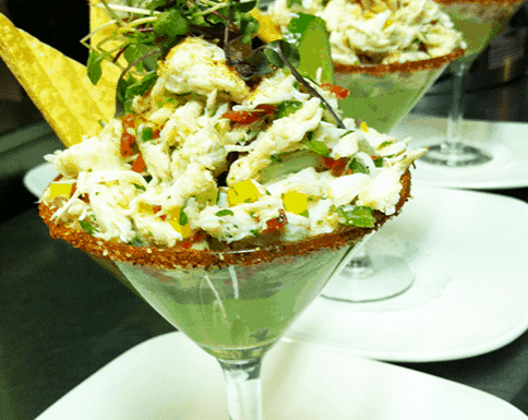 Crab margarita Appetizer Recipe. Super Delicious and easy to make! Great for Gluten Free lovers!