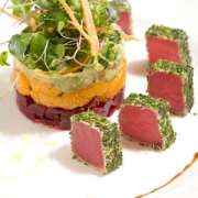 Chilled Herb-Crusted Tuna Salad Recipe