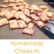 Homemade DIY Cheez-its Recipe