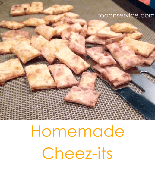 Homemade Cheez-its is super easy and definitely delicious! Better than going to the store for a box!