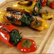 Vegetarian Stuffed Sweet Peppers
