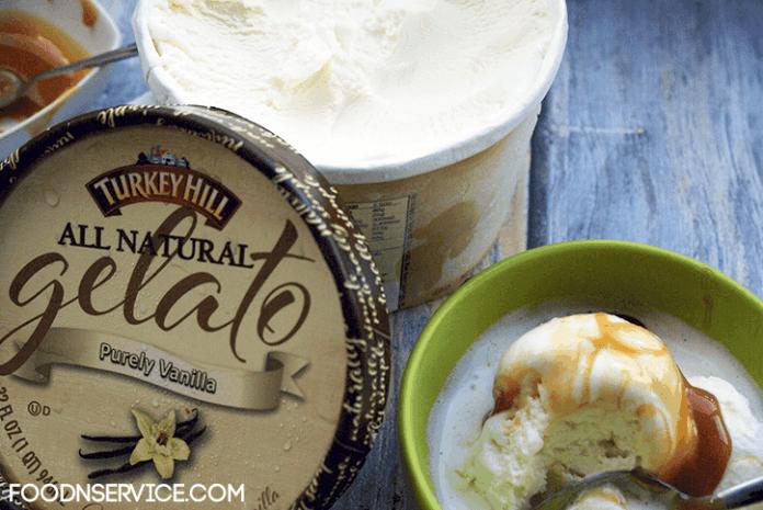 turkey hill vanilla gelato