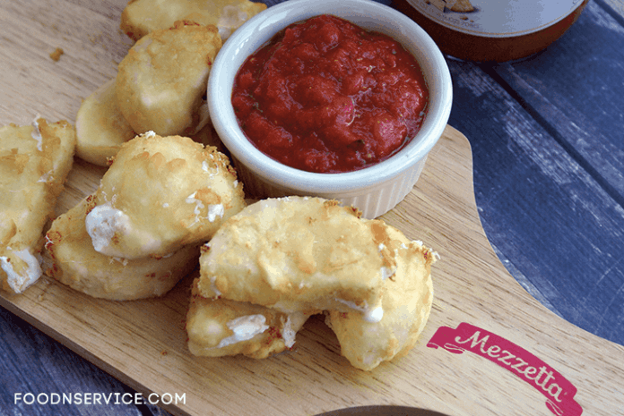homemade cheese sticks with sauce