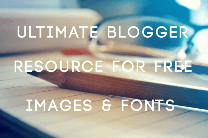resource for free images and fonts