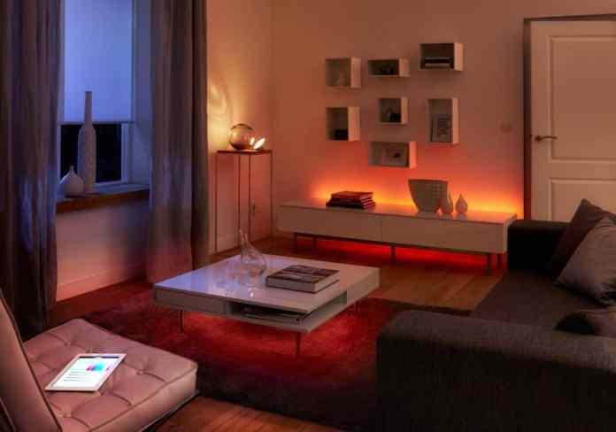 philips vue home lighting
