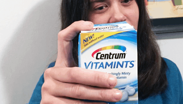 Angela Loves her Centrum® VitaMints® #CentrumVitaMints #ad