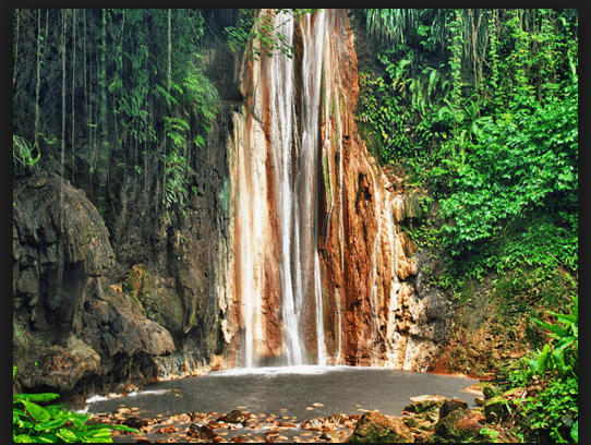 Diamond Soufriere Falls St. Lucia