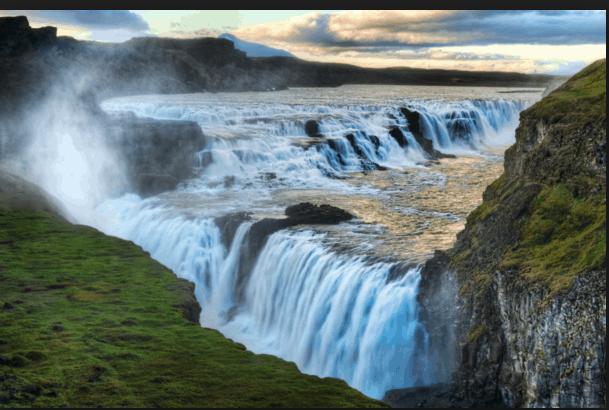 Gullfoss Haukadalur Iceland