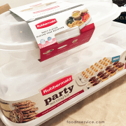 Holiday Party Serving Made Easier With Rubbermaid!