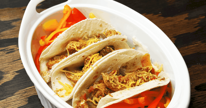 Crockpot Chicken Fajitas Recipe