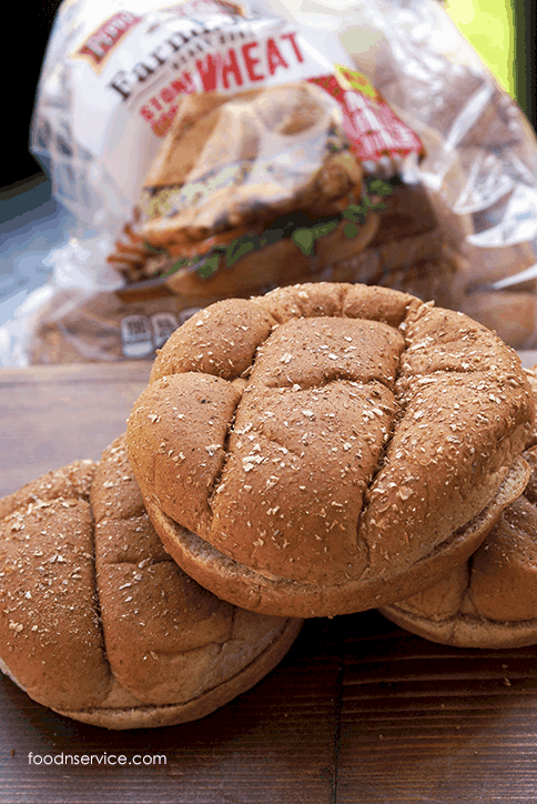 hearty whole wheat buns