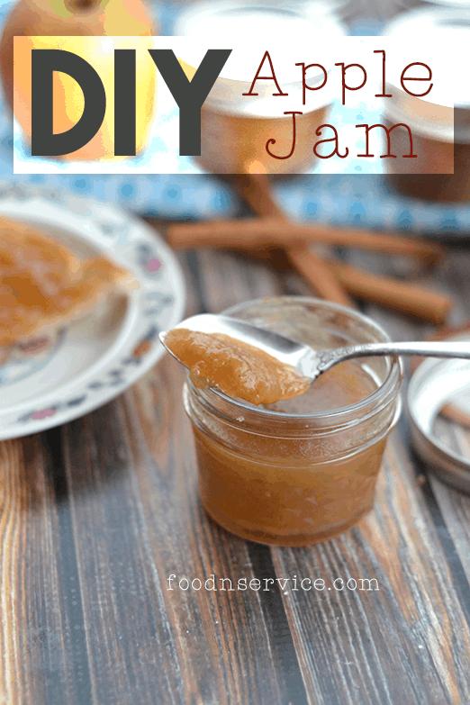 homemade diy apple jame recipe