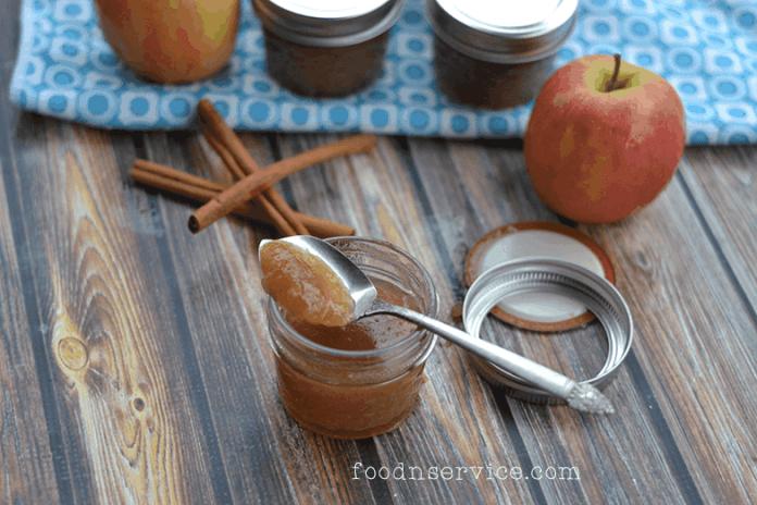 homemade diy apple jame