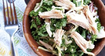 crockpot-pork-roast-on-sunflower-kale-salad