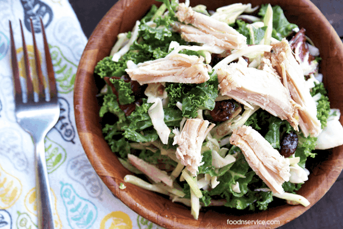 crockpot-pork-roast-on-sunflower-kale-salad