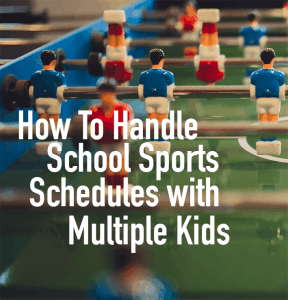 How To Manage School Sports Schedules With Multiple Kids