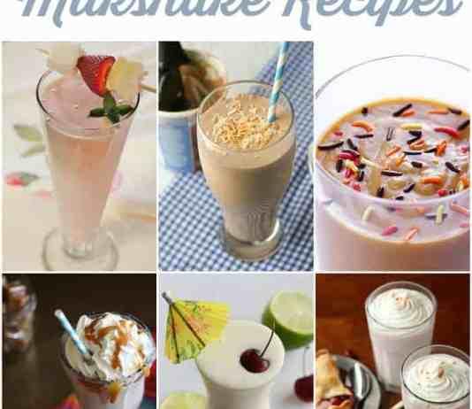 25 Delicious Milkshake Recipes that you need to make today!