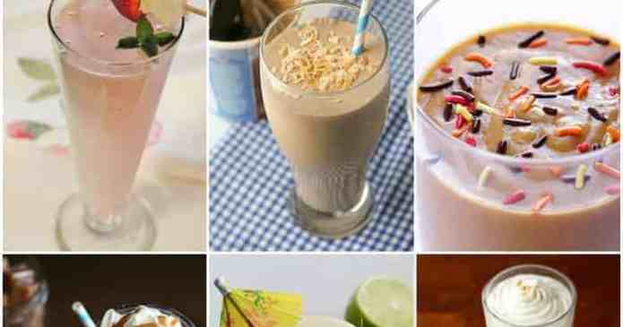 25 Milkshake Recipes