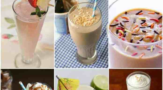 25 Delicious Milkshake Recipes that you need to make today!
