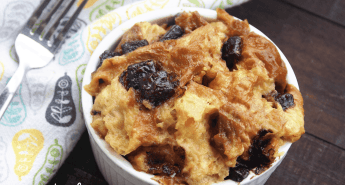 This is the best instant pot bread pudding recipe that you're going to come across. Why? Because it's loaded with chocolate chips!