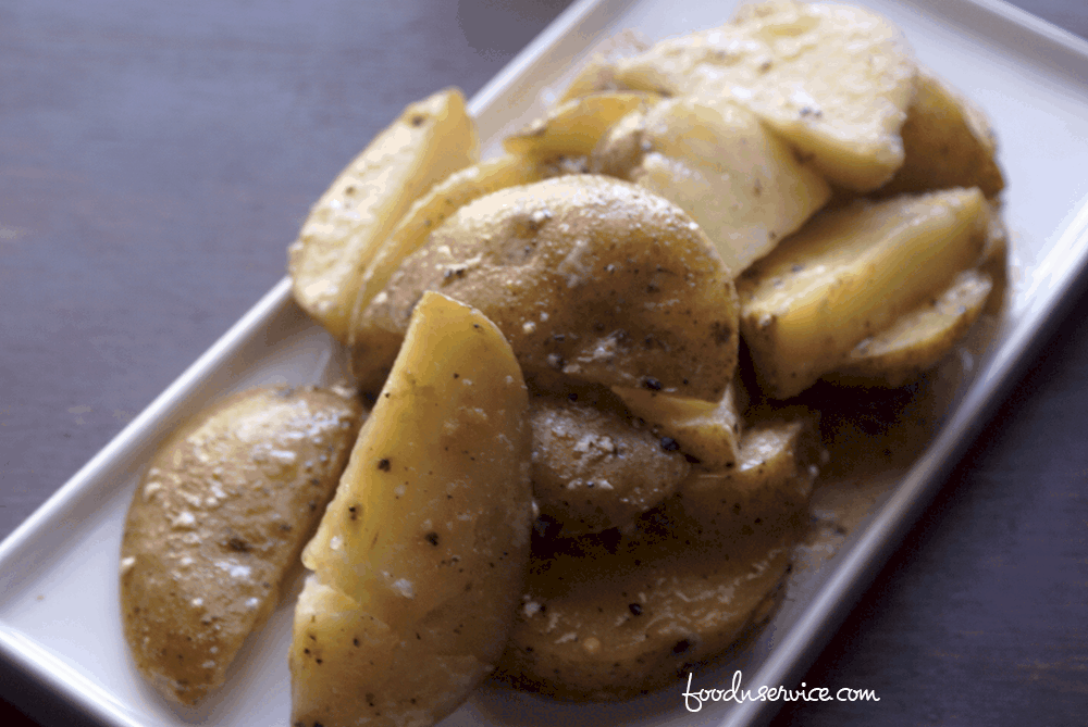 "My instant pot sous vide parmesan potatoes turned out fabulous! I don't have a sous vide machine, so I did a small ""hack"" and turned out awesome!"