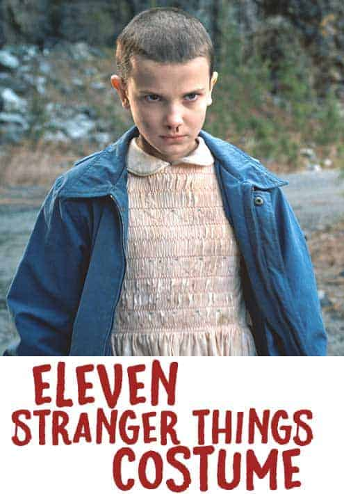 Eleven Stranger Things Costume tutorials and makeup ideas that your'e gonna love! Plus other fabulous info! You totally have to see this!