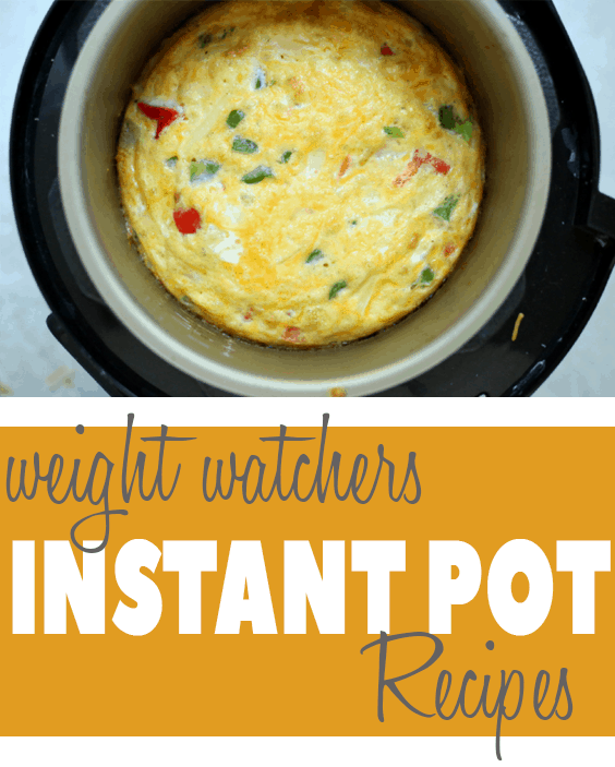 Amazing Instant Pot Weight Watchers Recipes you'll love making a part of your daily life!