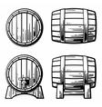 wooden-barrel-set-engraving-vector-7991798