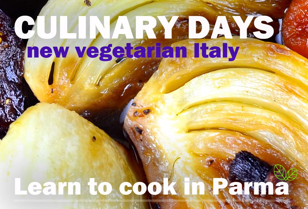 Platter Culinary vegetarian days FWT Parma